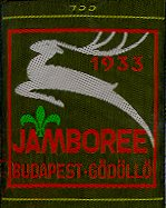 Original 1933 Jamboree Patch