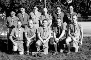 Experimental Wood Badge course in 1968