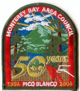 Pico Blanco Scout Reservation 50th Anniversary
